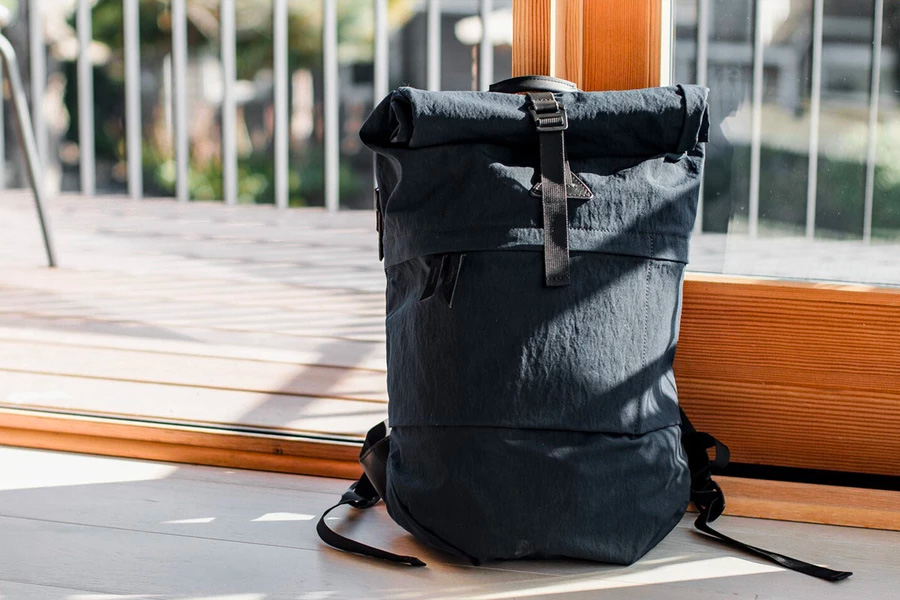 The Koru Rucksack is a Lightweight Canvas Carryall at werd.com