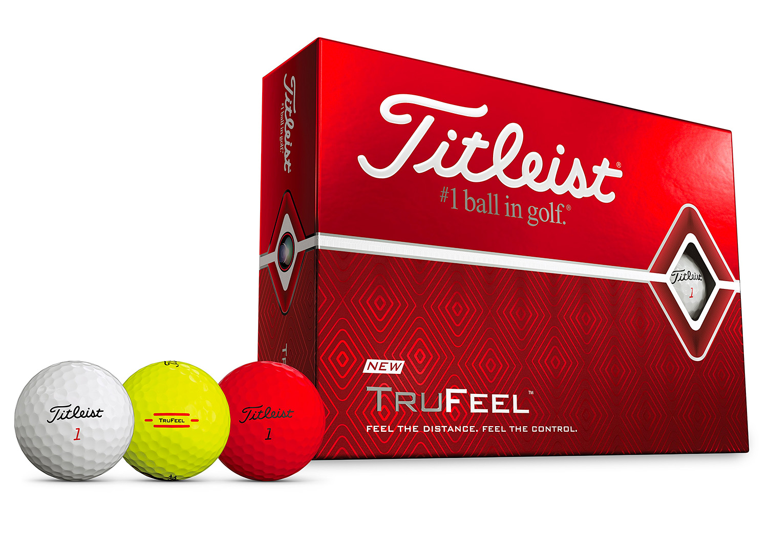 Titleist Introduces Advanced & Versatile TruFeel Golf Balls at werd.com