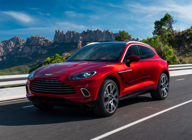 Aston Martin Unveils Its First SUV at werd.com