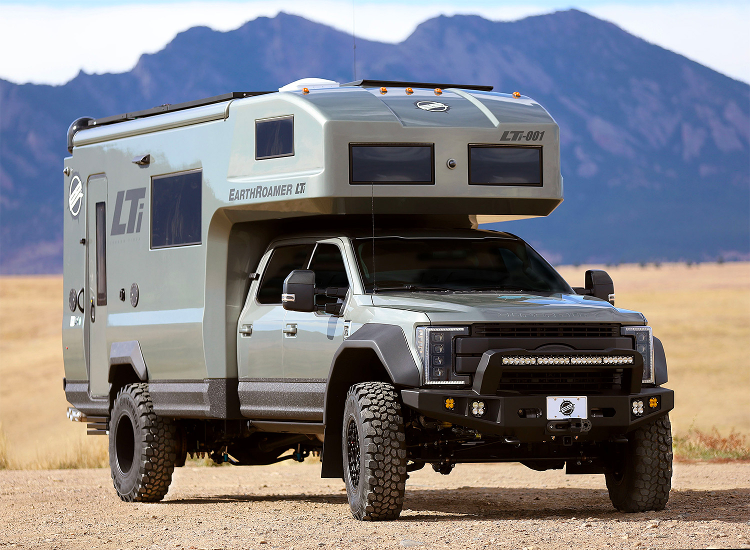 The EarthRoamer LTi is the Ultimate Overland RV at werd.com