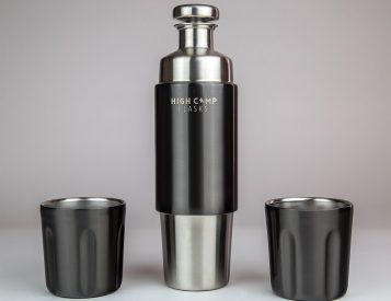High Camp's Firelight Flask is Perfect for Two