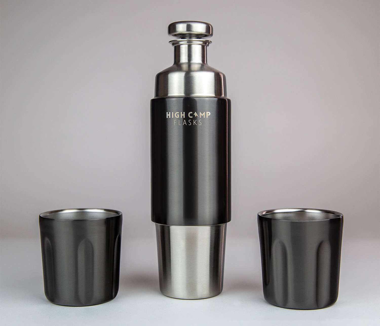 High Camp's Firelight Flask is Perfect for Two at werd.com