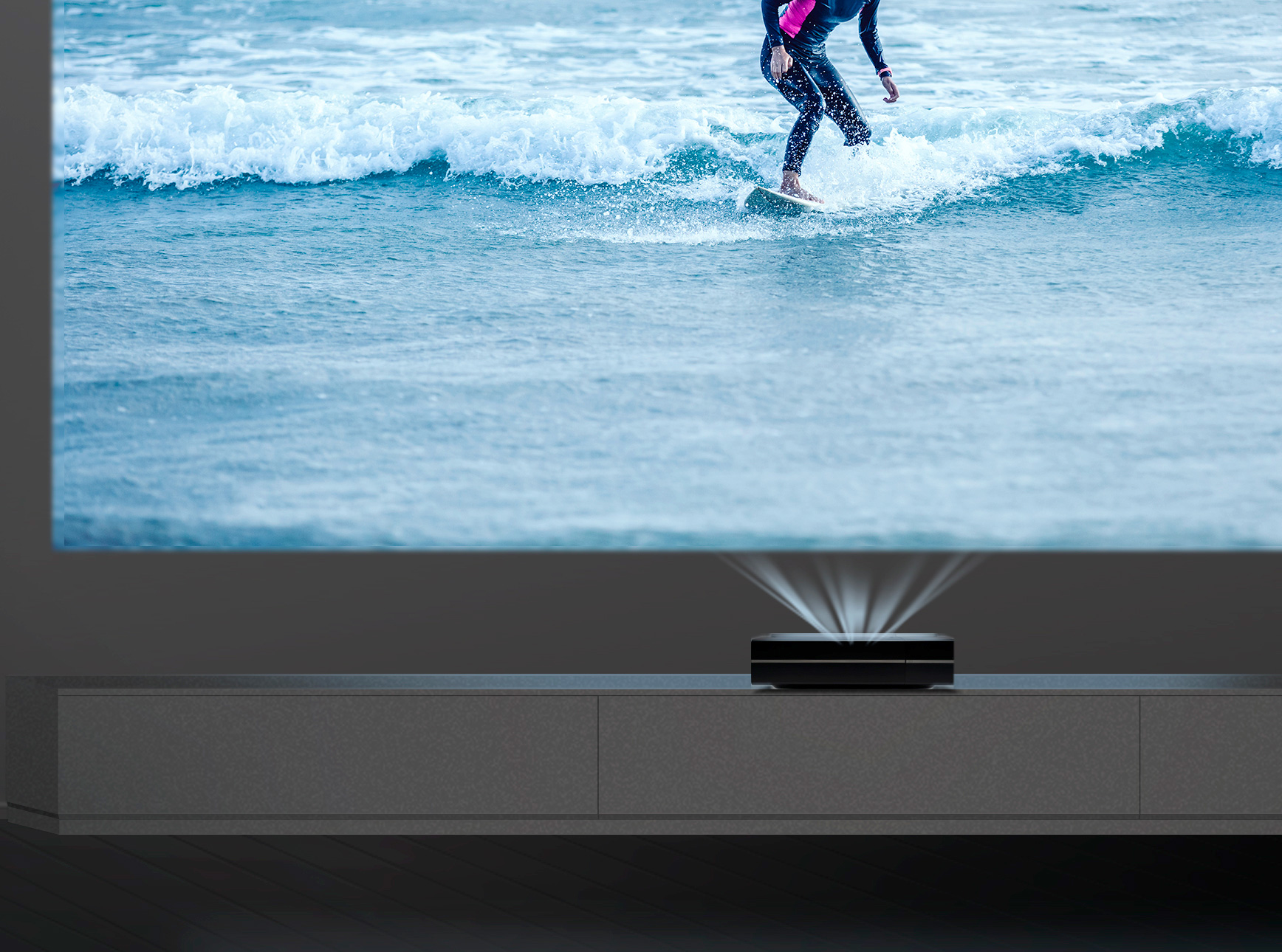 This 4K Projector has the Shortest Throw Rate Of All at werd.com