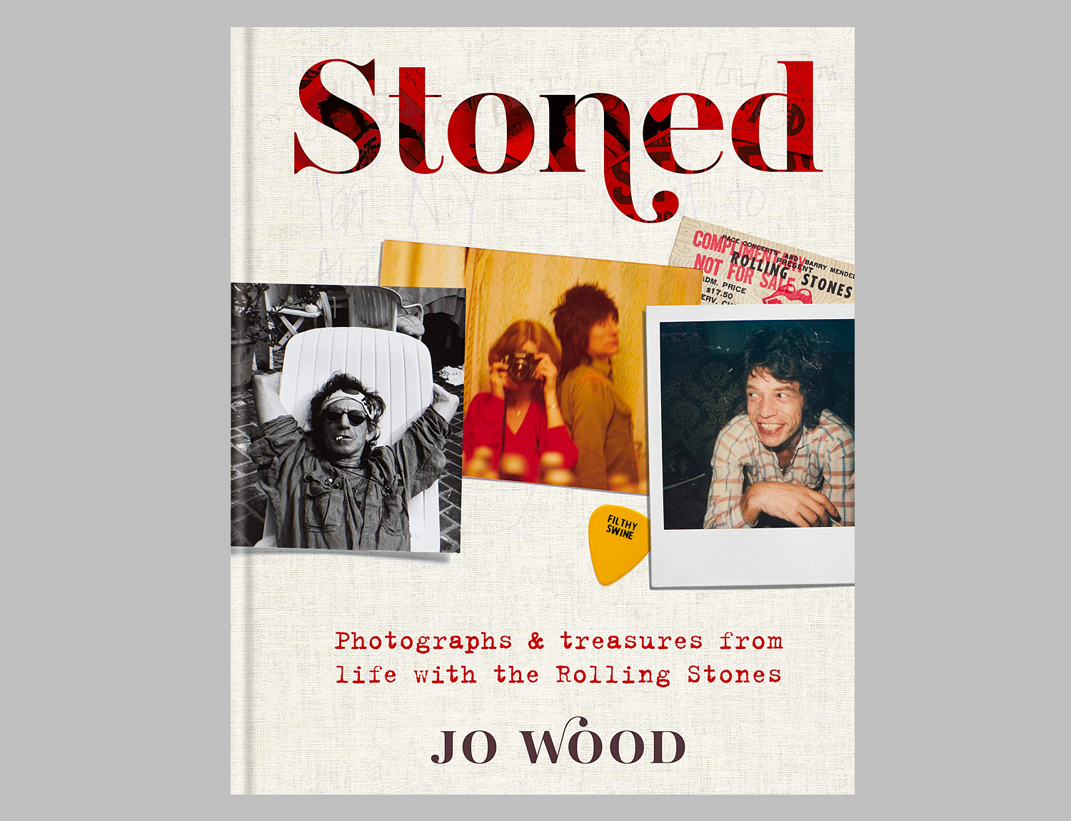 Stoned: Photographs & treasures from life with the Rolling Stones at werd.com