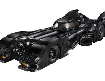 Tim Burton's <i>Batman</i> Celebrates 30 with a Lego Batmobile