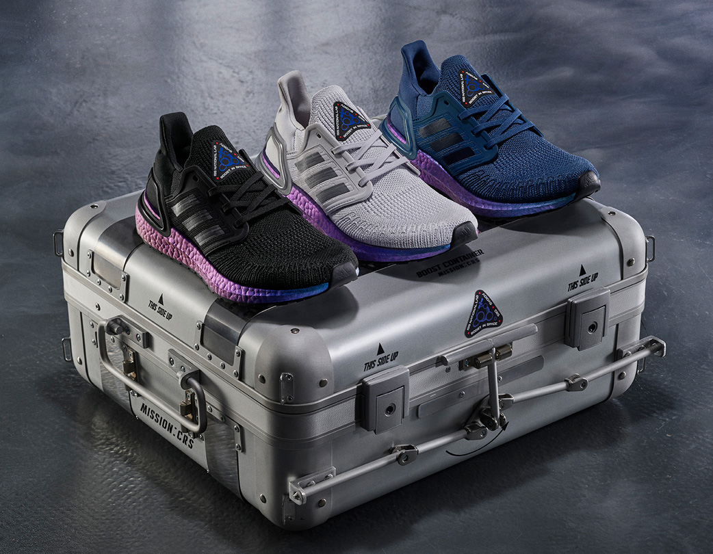 Adidas Unveils Space-Tested UltraBoost 20 at werd.com