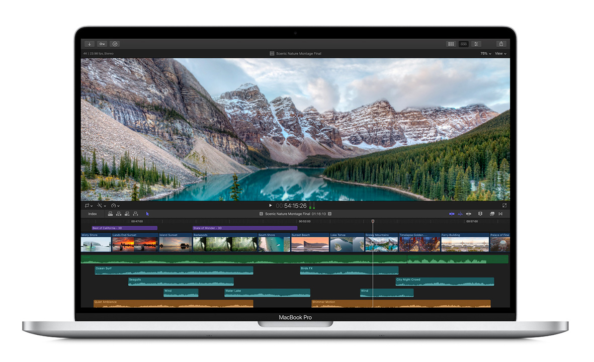 Apple Unveils Super-Sharp 16-Inch MacBook Pro at werd.com