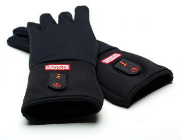 Winter Cold is No Match for Candle's Battery-Powered Gloves