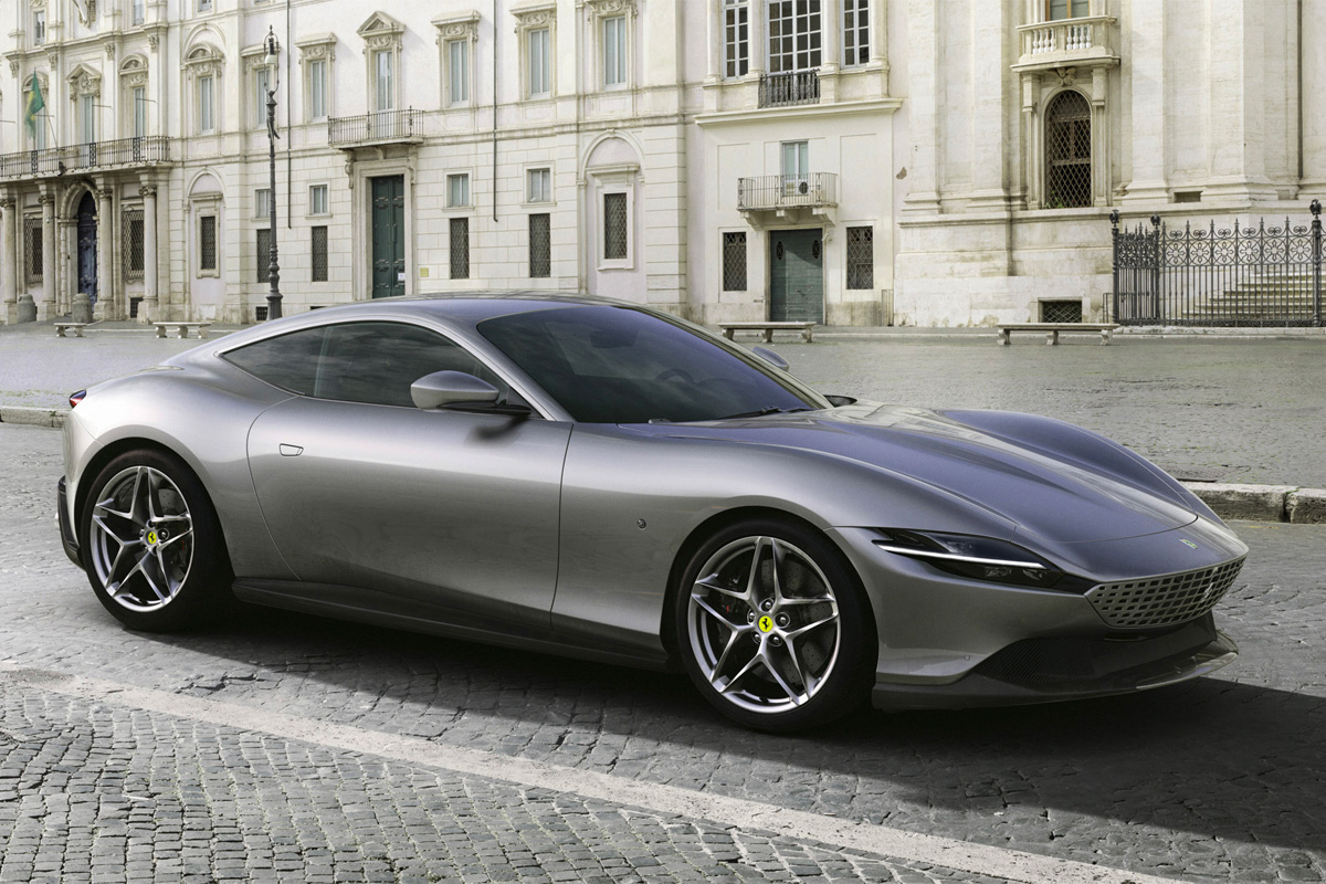 Ferrari Rolls Out 600-Horsepower Roma Coupe at werd.com