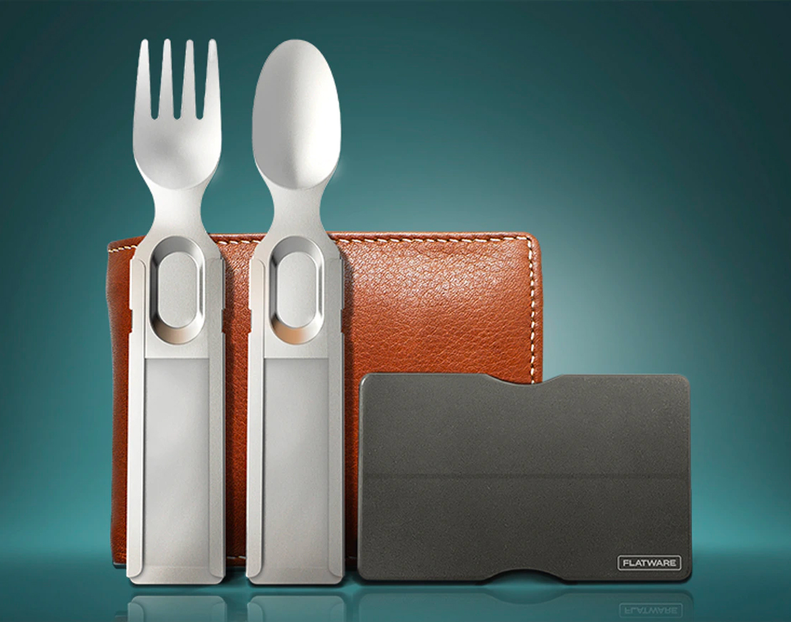 GoSun Flatware Helps You Kick Plastic to the Curb at werd.com