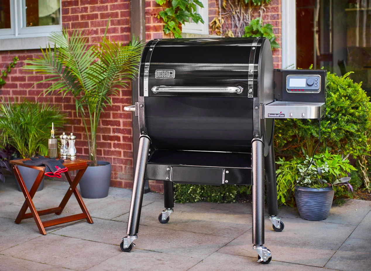 Weber Introduces The SmokeFire, Its First Pellet Grill at werd.com
