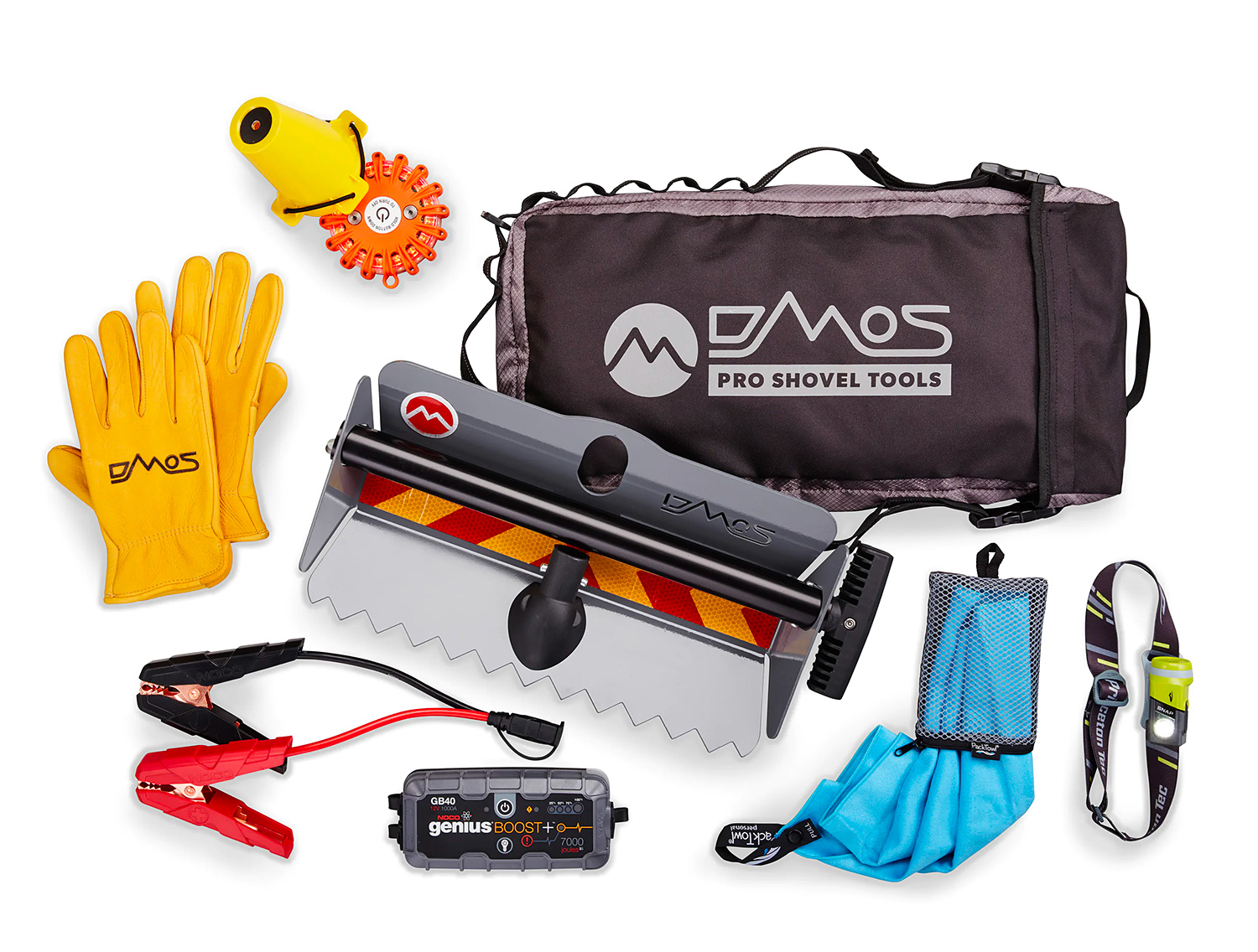 This Roadside Emergency Kit from DMOS Gets You Back On Track at werd.com