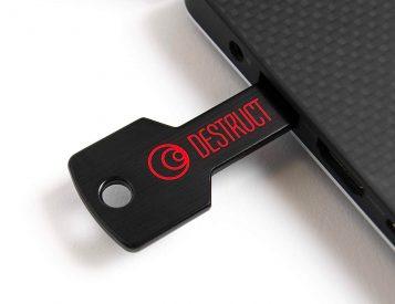This USB Hard Drive Eraser Delivers Military-Grade Data Destruction