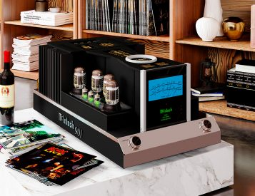 The McIntosh MC901 Dual Mono Amplifier Makes Big Sound & a Bold Statement