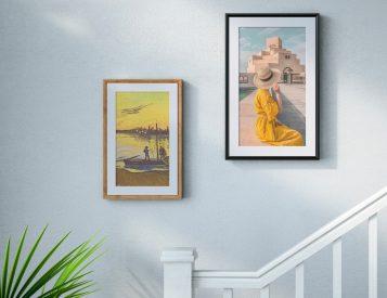 Display Your Photos Like Fine Art with Netgear's Meural Canvas II