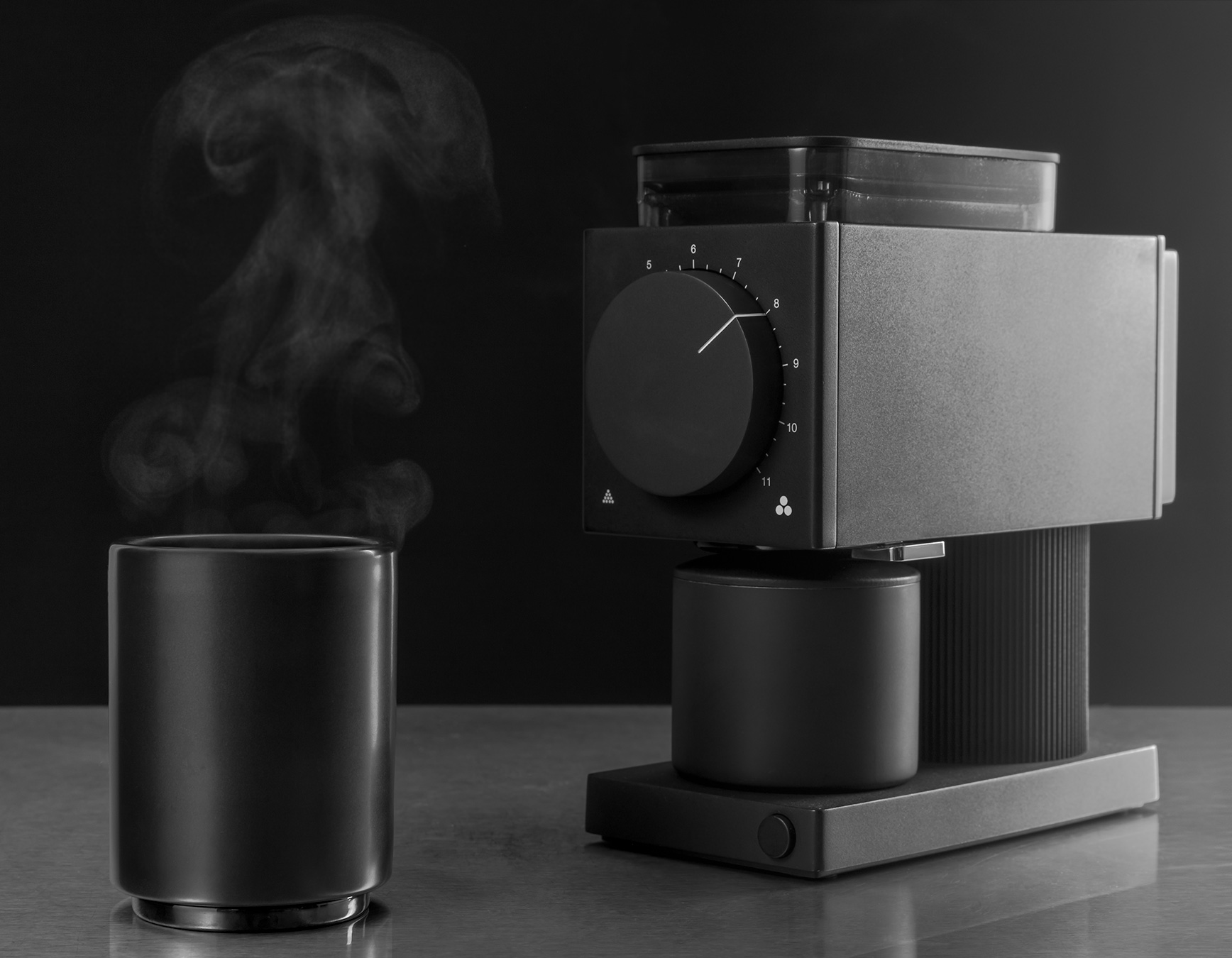 This Countertop Coffee Grinder Won't Wake the Whole House at werd.com