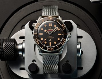 Omega Introduces Limited 007 Seamaster Diver