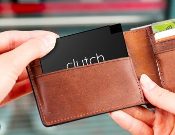 Stash the Slim Clutch Charger in Your Wallet & Stay Juiced