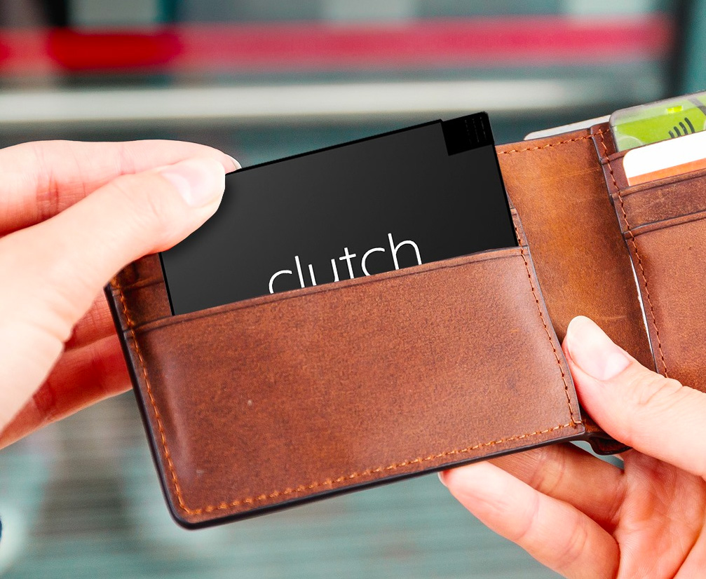 Stash the Slim Clutch Charger in Your Wallet & Stay Juiced at werd.com