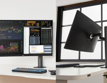 LG Introduces Swiveling UltraFine Ergo 4K Display