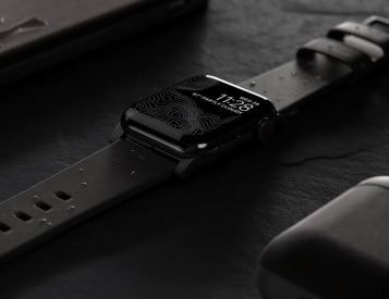 Upgrade Your Apple Watch with Nomad's Waterproof Leather Strap