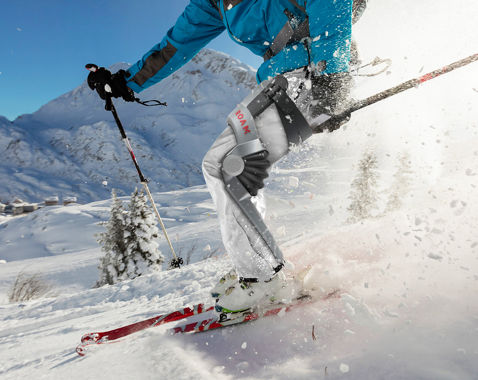 Ski Like You Used To with Roam Robotics' Elevate Exoskeleton at werd.com