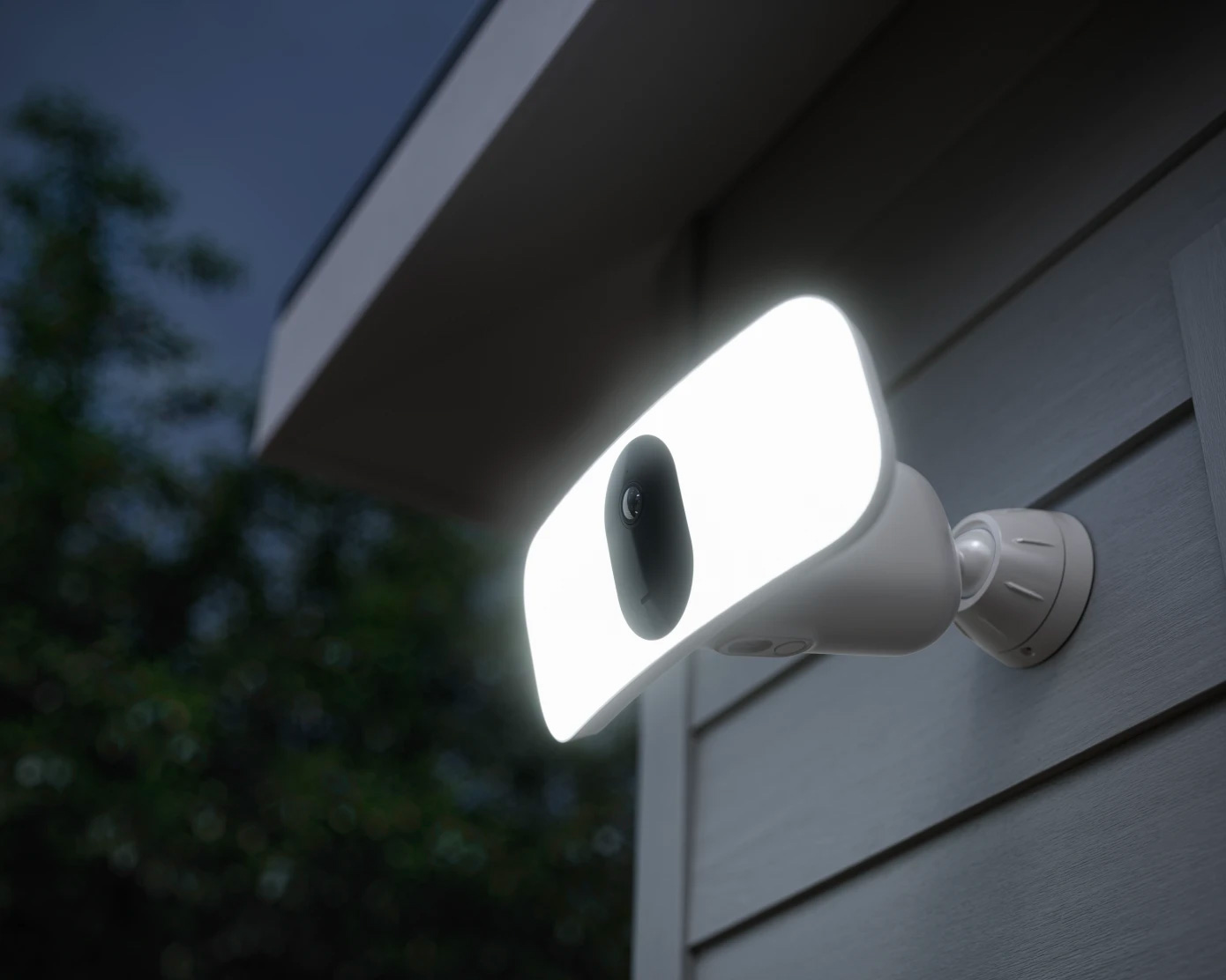 The Arlo Pro 3 is a Security Cam & Floodlight In One at werd.com