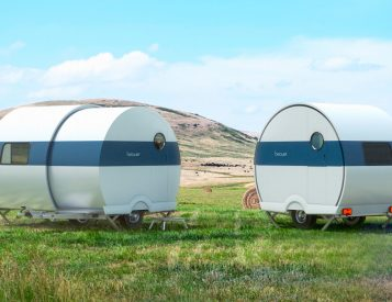 A Nested Design Allows This Camper To Double Its Size Instantly