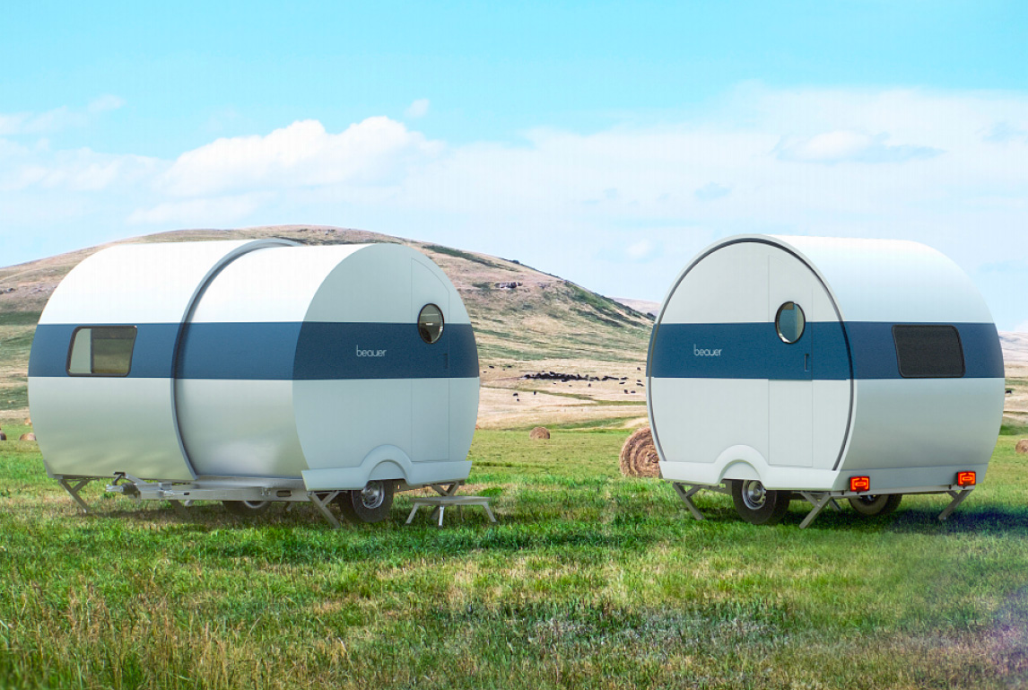 A Nested Design Allows This Camper To Double Its Size Instantly at werd.com