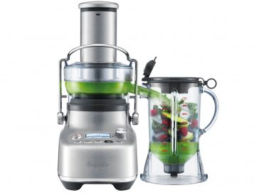 Breville Merged a Blender & a Juicer To Create The Bluicer
