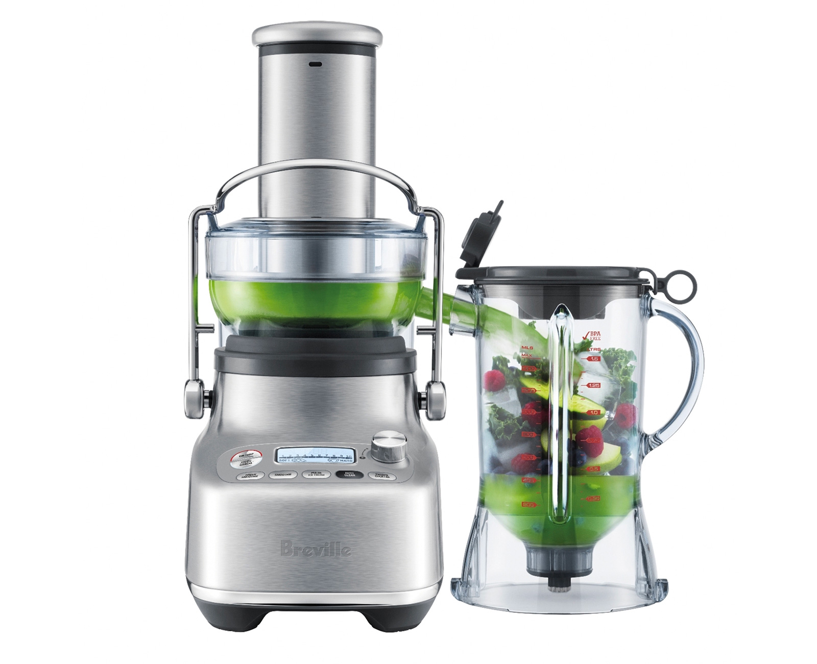 Breville Merged a Blender & a Juicer To Create The Bluicer at werd.com