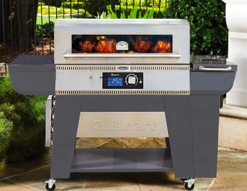 Cuisinart's Woodcreek Pellet Grill Cooks with Wood or Charcoal