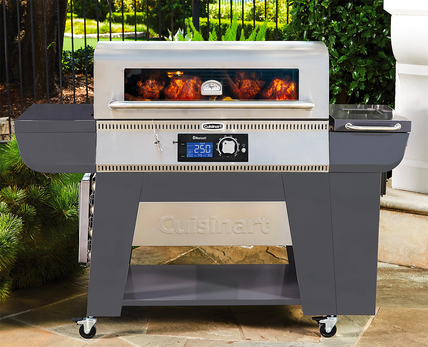Cuisinart's Woodcreek Pellet Grill Cooks with Wood or Charcoal at werd.com