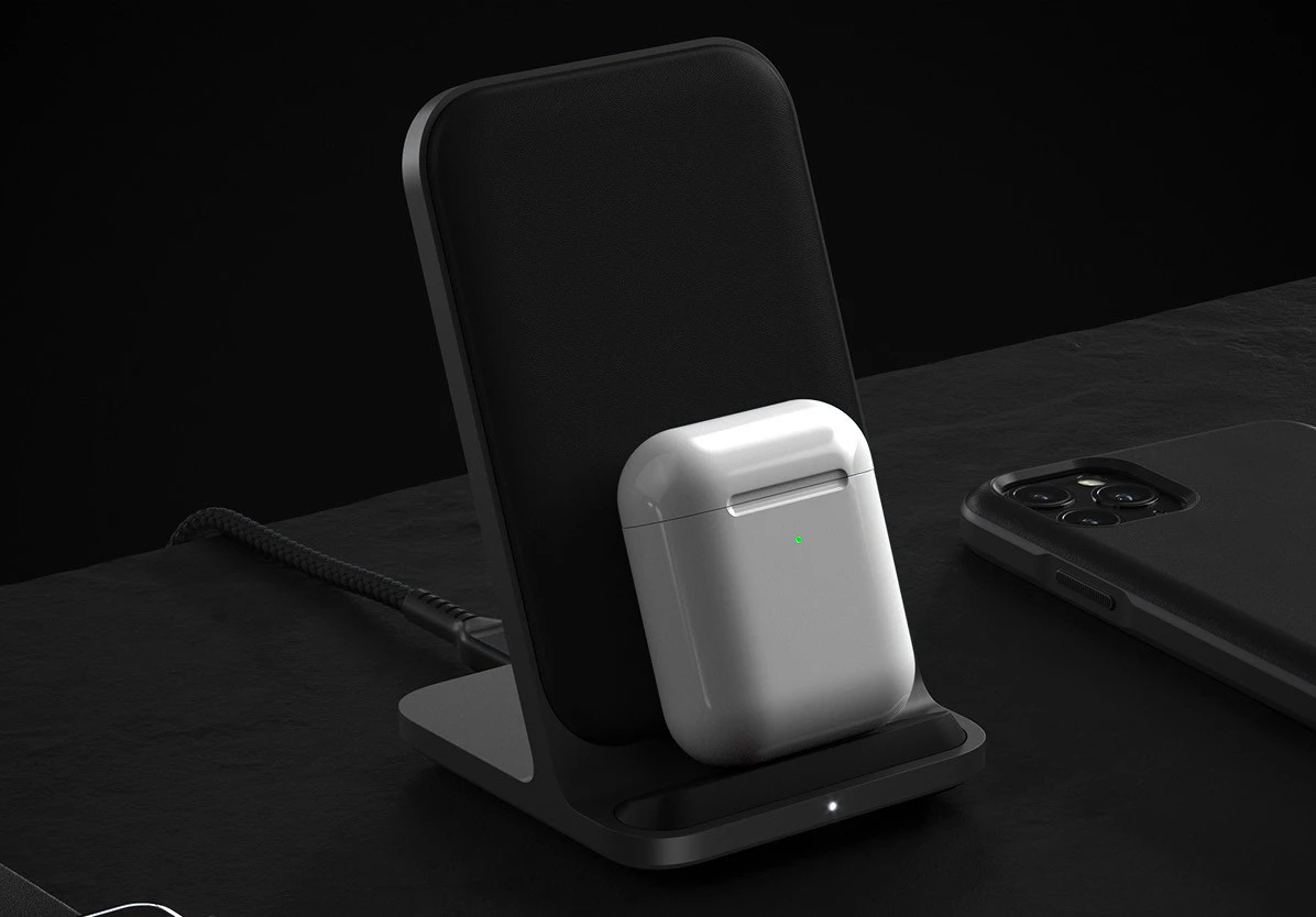 NOMAD's Base Station Stand Delivers Max Power in a Minimalist Design at werd.com