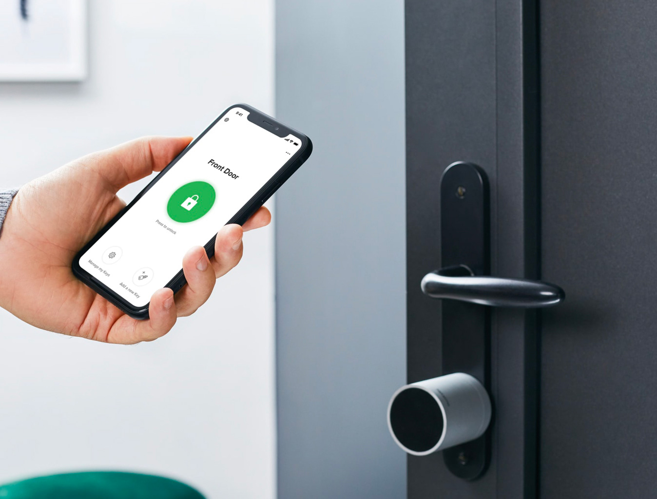 This Netatmo Smart Lock Uses NFC Keys at werd.com
