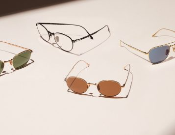 Persol's Titanium Collection Mixes Italian Style & Japanese Craftsmanship
