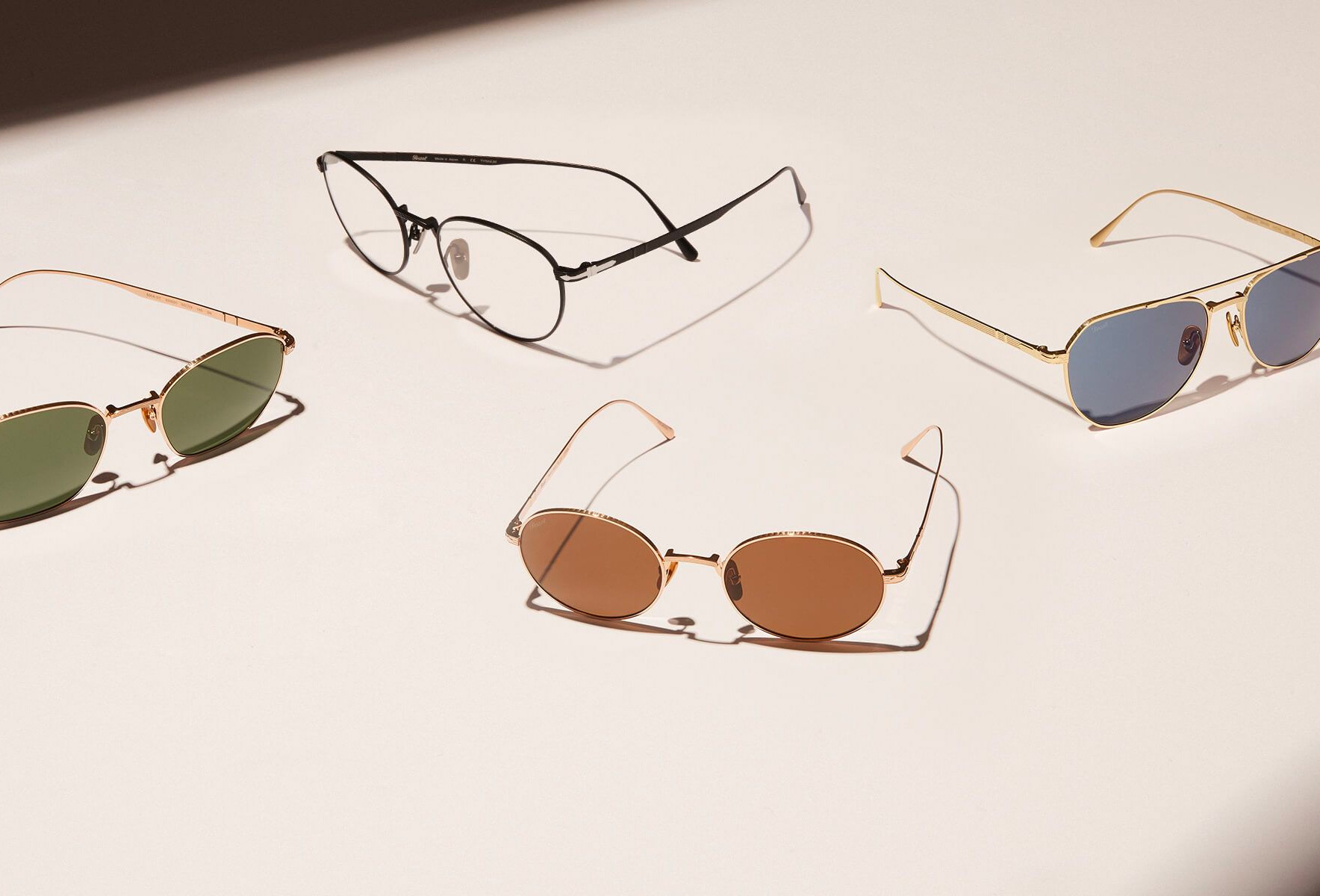 Persol's Titanium Collection Mixes Italian Style & Japanese Craftsmanship at werd.com