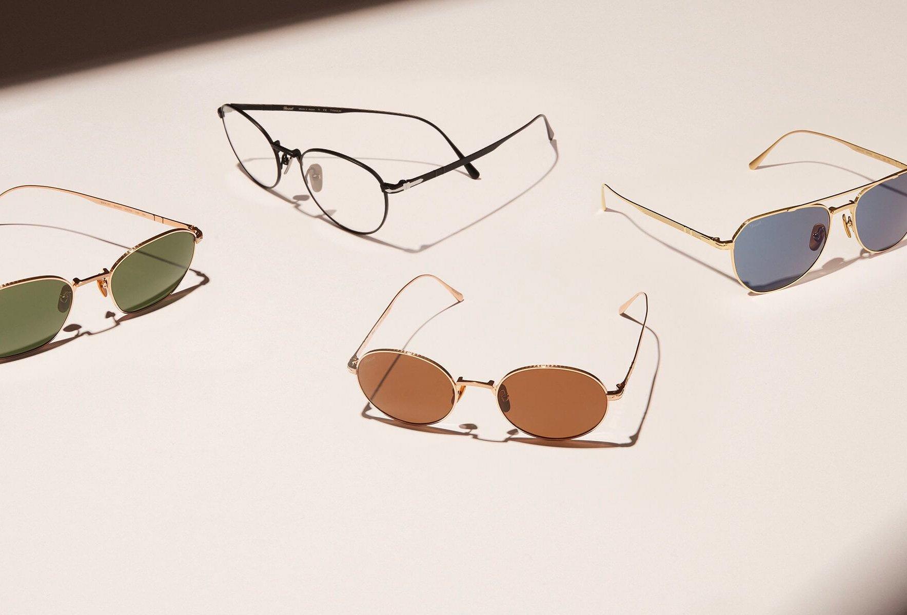 Persol's Titanium Collection Mixes Italian Style & Japanese Craftsmanship at werd.com