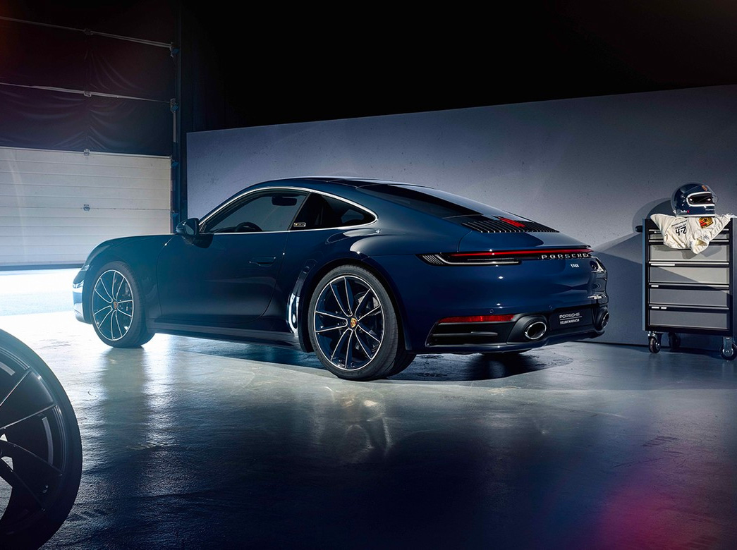 "Porsche's 992 ""Belgian Legend"" Edition Celebrates an F1 Icon at werd.com"