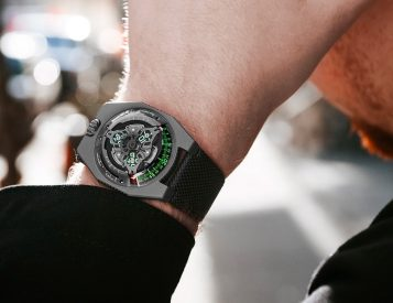 Measure Time & Earth's Rotation with the Urwerk UR-100