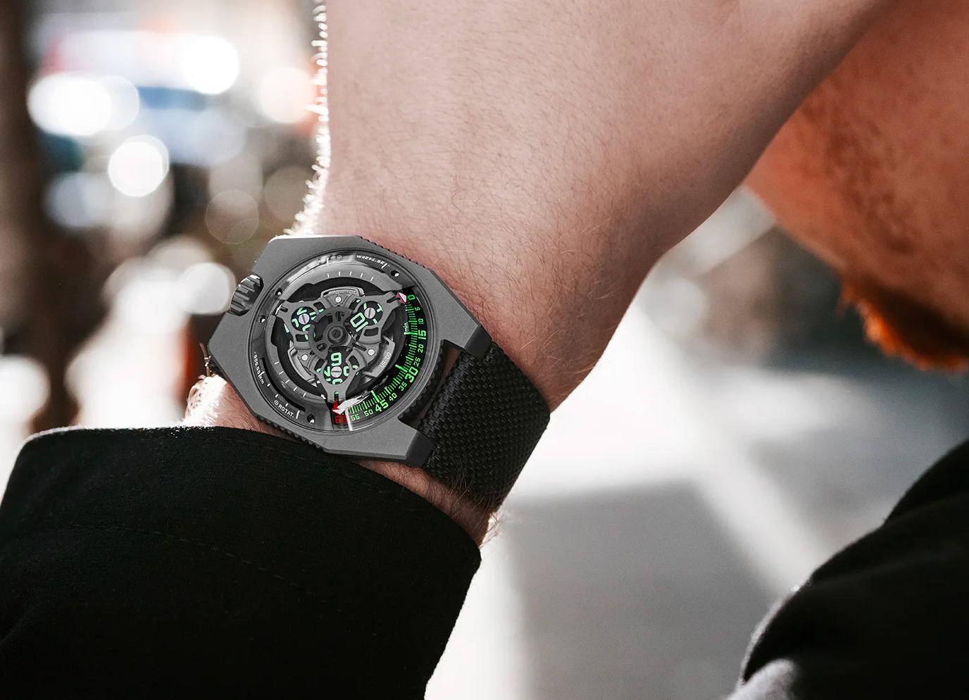 Measure Time & Earth's Rotation with the Urwerk UR-100 at werd.com