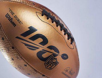 Wilson & MCM Team Up On Luxury Leather Superbowl Football