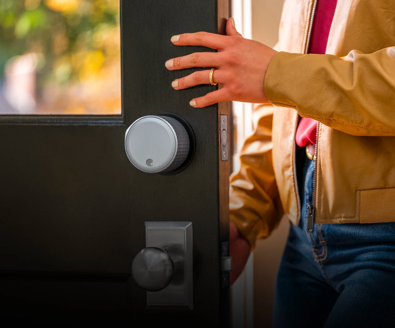 Replace Your Outdated Deadbolt with the Wi-Fi Smart Lock From August at werd.com
