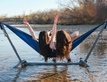 Hangout Anywhere with Kammok's Swiftlet Hammock Stand