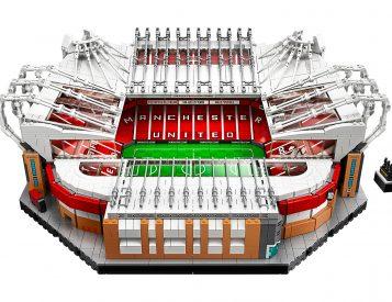 Lego Celebrates Manchester United with the Old Trafford Stadium Set