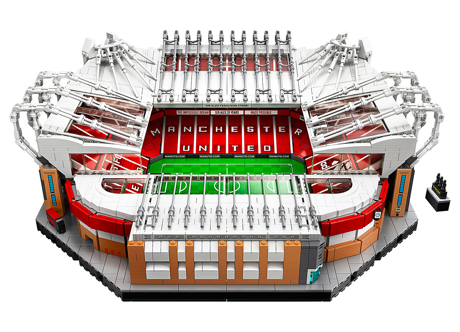 Lego Celebrates Manchester United with the Old Trafford Stadium Set at werd.com