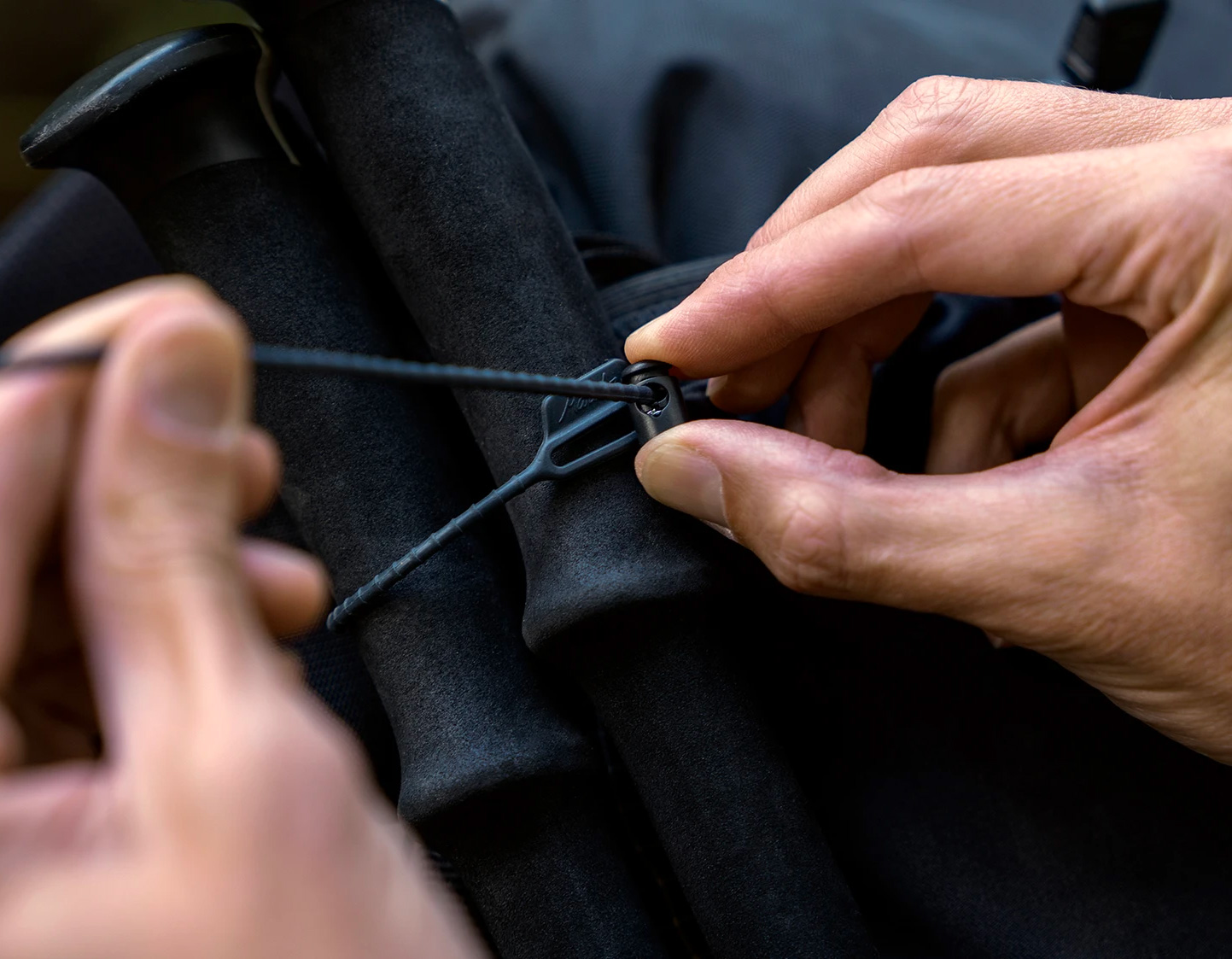 Matador's Reusable Rubber Zip Ties Eliminate Waste at werd.com