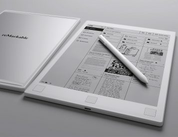 This E-Paper Notepad is reMarkable
