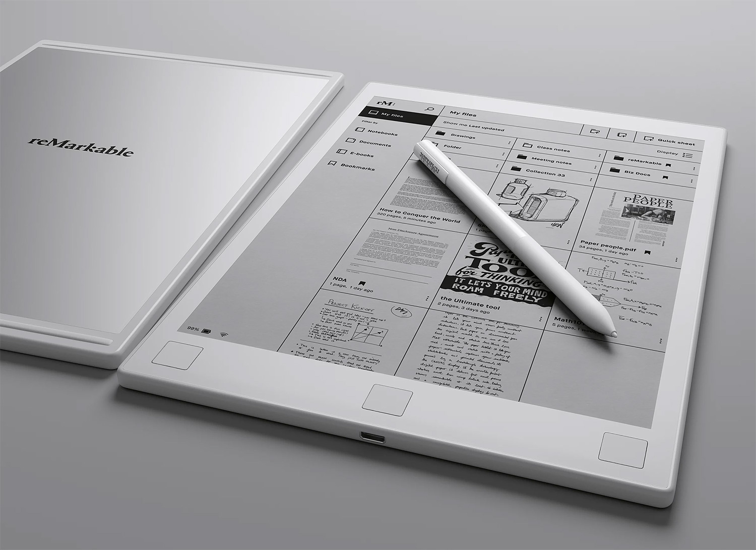 This E-Paper Notepad is reMarkable at werd.com