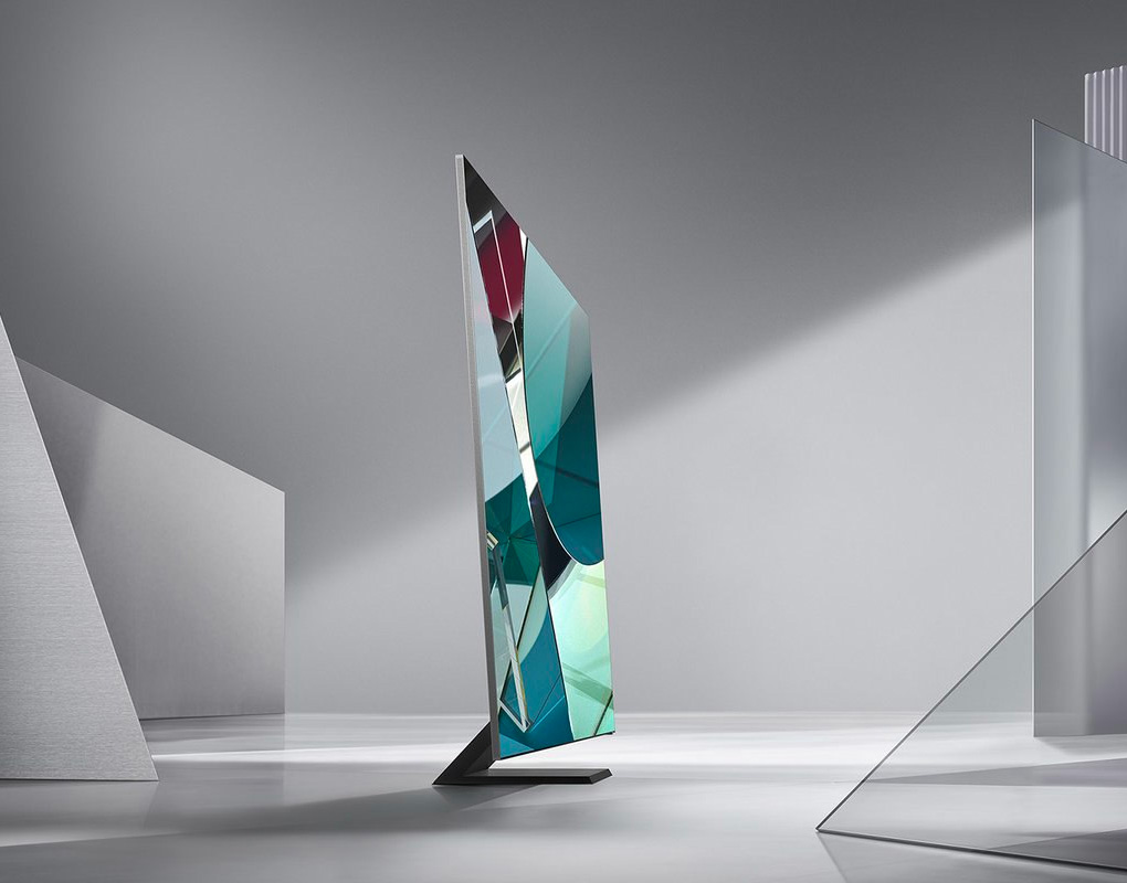 Samsung's Latest 8K TV Takes Viewing To the Very Edge at werd.com
